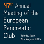 Annual Meeting of the European Pancreatic Club 24-26 June 2015