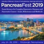 Pancreas Fest  2019 – July 24 – 26, 2019, Pittsburgh, Pennsylvania